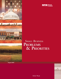 NFIB Problems and Priorities 2016